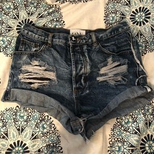 One Teaspoon Classic Outlaw Shorts